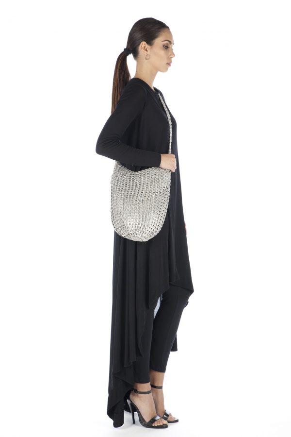 Half Moon Bag with flap