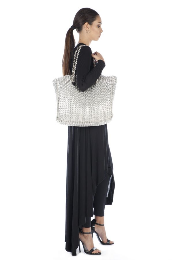 Shopping Big Leo Bag with Chain and Sack