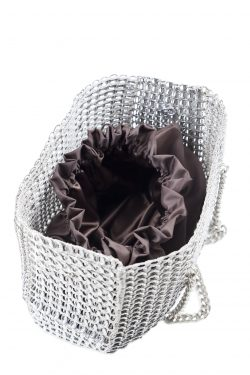 Shopping Bag With Chain and Sack