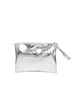 Borsa Pochette Eco Silver