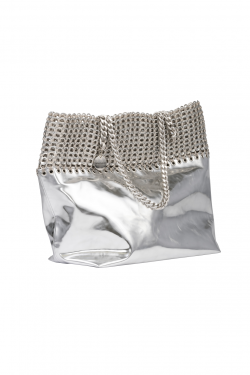 Francesca Eco Silver Bag